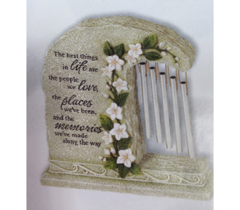 Windchime-(Table)The Best Things in Brownsburg IN, Queen Anne's Lace Flowers & Gifts