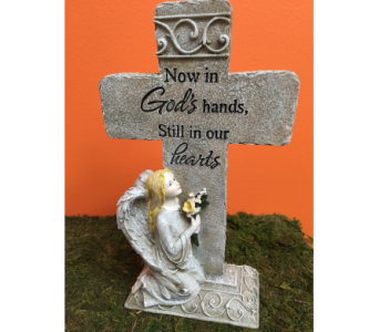 God''s Hands Cross in Brownsburg IN, Queen Anne's Lace Flowers & Gifts