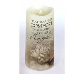 Candle-Arms of an Angel in Brownsburg IN, Queen Anne's Lace Flowers & Gifts