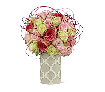 The FTD� Perfect Bliss Luxury Bouquet in Elk Grove Village IL, Berthold's Floral, Gift & Garden