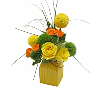 Seasonal Sunshine in Amherst NY, The Trillium's Courtyard Florist