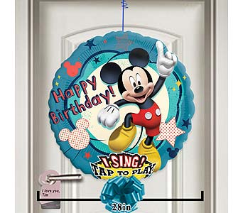 Happy Birthday Mickey Singing Balloon! by 1-800-balloons