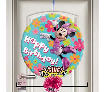 Happy Birthday Minnie Singing Balloon! by 1-800-balloons