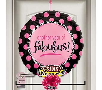 Another Year of Fabulous Singing Balloon! by 1-800-balloons
