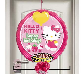Hello Kitty Birthday Singing Balloon! by 1-800-balloons