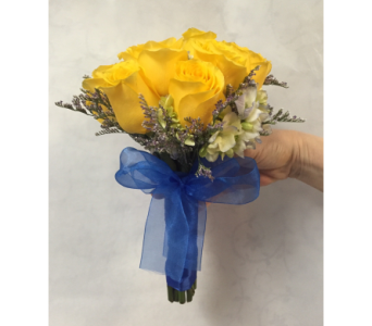 Hand-Tied Yellow Roses in Philadelphia PA, Schmidt's Florist & Greenhouses