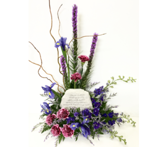 So Loved, So Missed Garden Stone Arrangment in Wyoming MI, Wyoming Stuyvesant Floral