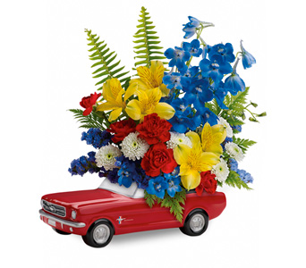 Ford Mustang Bouquet in Ogden UT, Jimmy's Flowers