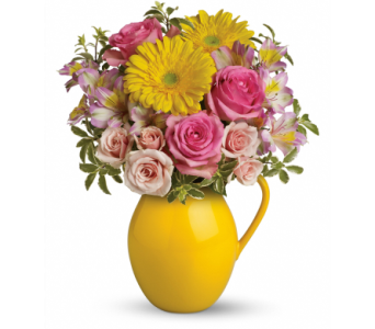 Sunny Day Pitcher of Charm in Concord CA, Vallejo City Floral Co