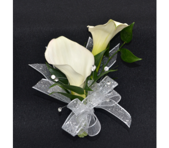 Calla Lily Corsage in Zeeland MI, Don's Flowers & Gifts