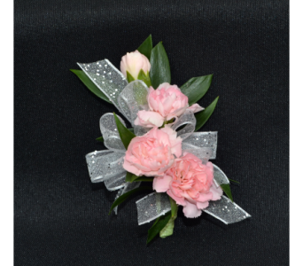 Mini Carnations Corsage in Zeeland MI, Don's Flowers & Gifts