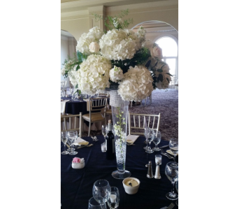 Elegant White in Watertown CT, Agnew Florist