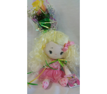 My Little Blonde Ballerina wrap  in Hagerstown MD, Chas. A. Gibney Florist & Greenhouse