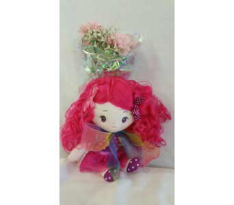 My Fushia Pink Balleria Doll Wrap  in Hagerstown MD, Chas. A. Gibney Florist & Greenhouse