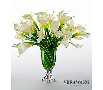 Musings Luxury Calla Lily Bouquet By Vera Wang in Malverne NY, Malverne Floral Design