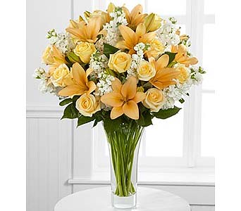 Admiration Luxury Rose & Lily Bouquet in Malverne NY, Malverne Floral Design
