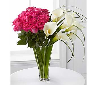 Irresistible Luxury Rose & Calla Lily Bouquet in Malverne NY, Malverne Floral Design