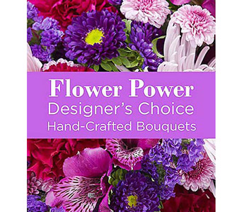 Purple Colors Florist Designed Bouquet in Malverne NY, Malverne Floral Design