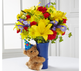 Big Hug Birthday Bouquet in Baltimore MD, Raimondi's Flowers & Fruit Baskets