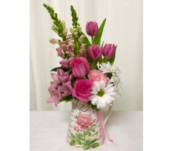 Rosy Pitcher in Titusville FL, Floral Creations By Dawn