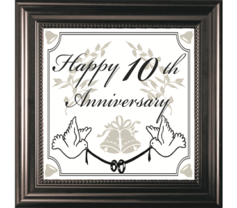 10TH Anniversary in Isanti MN, Elaine's Flowers & Gifts