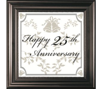 25TH Anniversary in Isanti MN, Elaine's Flowers & Gifts