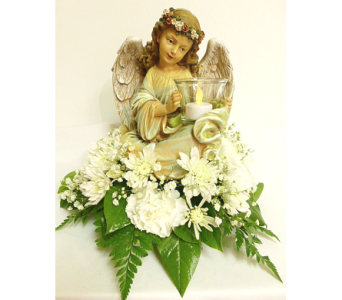 Angel Votive in Warren MI, Downing's Flowers & Gifts Inc.