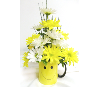 Smiley Mug in Warren MI, Downing's Flowers & Gifts Inc.