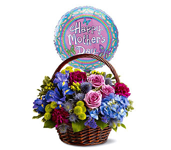 Mom's Twilight Garden Basket by 1-800-balloons