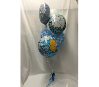 It's a Boy Balloon Bouquet in Dearborn MI, Fisher's Flower Shop