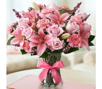 Expressions of Pink in Mountain View CA, Oakbrook Florist