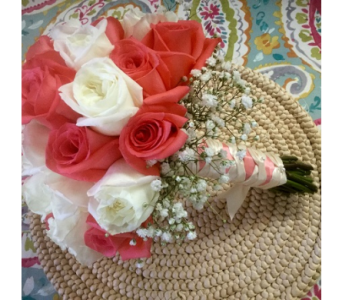 Red and white Bouquet in Vero Beach FL, Artistic First Florist