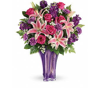 Teleflora's Luxurious Lavender Bouquet in Detroit and St. Clair Shores MI, Conner Park Florist