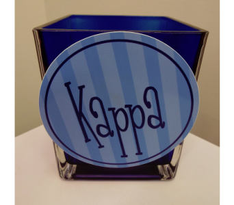 Kappa Kappa Gamma Cube Bouquet in Lawrence KS, Owens Flower Shop Inc.