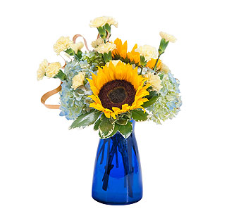 Good Morning Sunshine in La Porte TX, Comptons Florist