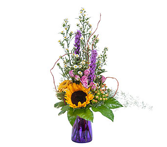 Wildflower Welcome in Charlottesville VA, A New Leaf Florist
