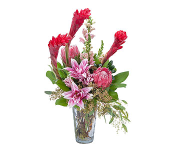 Exotic Beauty in Spartanburg SC, A-Arrangement Florist