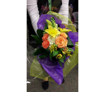 Handtied Bouquet in Lockport NY, Gould's Flowers, Inc.