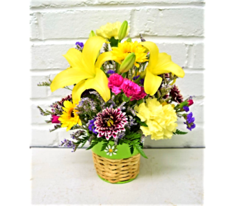 Sunshine Basket in Springfield MO, House of Flowers Inc.