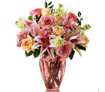 1800's Shades of Pink� in Birmingham AL, Norton's Florist