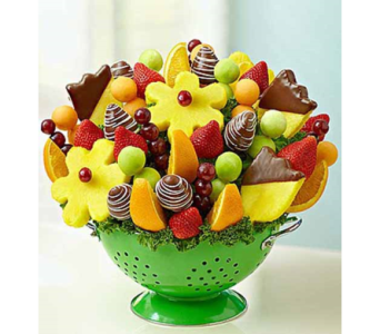 Treats a Plenty   in Mount Morris MI, June's Floral Company & Fruit Bouquets