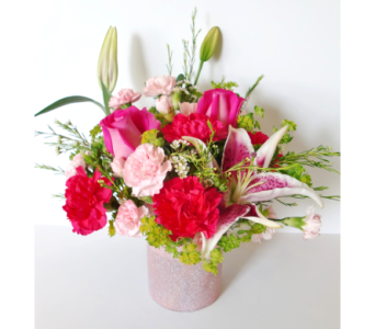 Pretty in Pinks in Nashville TN, Flowers By Louis Hody