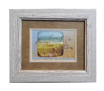 Serenity, Courage, Wisdom Framed Gift in Hendersonville TN, Brown's Florist