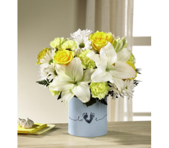 The FTD� Tiny Miracle� New Baby Boy Bouquet in Arizona, AZ, Fresh Bloomers Flowers & Gifts, Inc