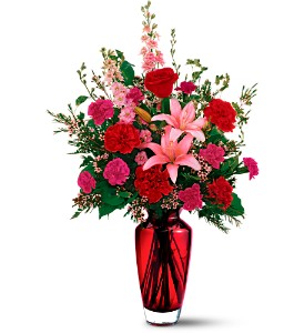 Teleflora's Big Red Bouquet in Lenexa KS, Eden Floral and Events