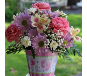 Baby Girl Arrangement in Winchester VA, Flowers By Snellings