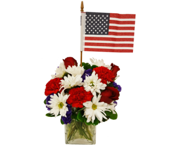 Patriotic Beauty Bouquet by Country Greenery in Moorhead MN, Country Greenery