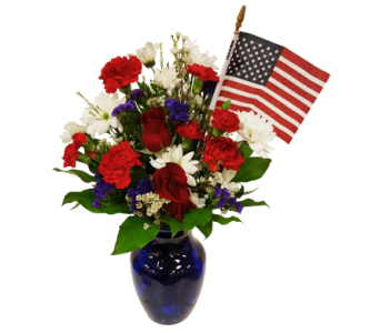 Celebrate America Bouquet by Country Greenery in Moorhead MN, Country Greenery