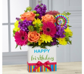 Birthday Brights Bouquet in Camp Hill and Harrisburg PA, Pealer's Flowers