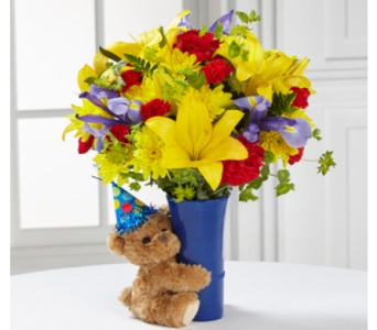 Big Hug Birthday Bouquet in Camp Hill and Harrisburg PA, Pealer's Flowers
